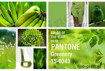 Модные цвета Pantone / Модные цвета, обозначенные институтом Pantone