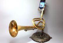 Musical instrument lights speakers etc