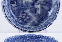 mavi porselen