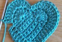 coração de croché