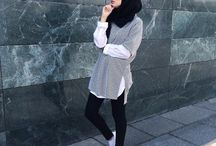 Casual Hijab / OOTD inspirations