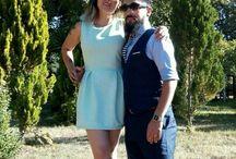 Fiestas / casamiento en cunco. región de la Araucanía  trajes casuales outdoor
