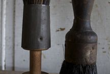 brushes, brooms, whisks, besoms. / sweeping tools