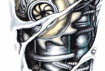 Bionic tattoos