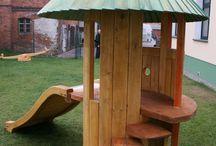 place zabaw,ogrodowa architektura