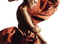 Fashion scarves photos