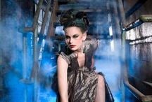 Industrial fashion shoot