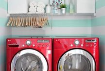 Scrub-a-dub-dub...I need a laundry room / Dreams of a pretty laundry room dance in my head. I hate doing laundry so maybe if I have a nice place to do it, I won't hate it as much?! / by Janelle Warnemuende