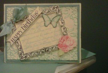 Card making S.U. Papaya collage