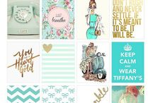 Fashion printables / stickers