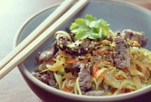 veg noodle ideas  / by Lisa Roy