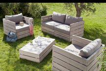 outdoor furniture / by Katarina Damm-Blomberg