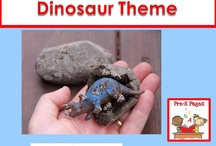 Dinosaur Preschool Unit / by Michelle Siler Smith