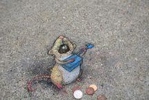 peintures, street art, dessins