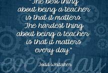 I love to teach .......