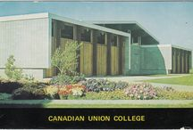 CANADIAN UNION COLLEGE / Founded in 1907 by Seventh-day Adventist Church, Canadian Union College (Lacombe, Alberta, Canada) operated under this name from 1947 until 1997. It is now known as Burman University.