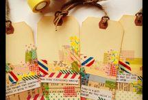 Washi tape ideas / by Debi Pursley