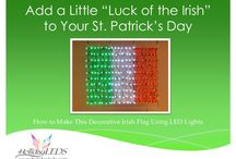 St. Patrick's Day Lighting / Lighting displays to celebrate St. Patrick's Day