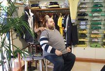 Vita di negozio / Alle prese con un cliente, ora grande amico, esigente e che richiede la massima dedizione: il nostro affezionatissimo Marco Saltarin di Telestudio Modena.