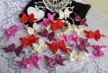 Rocreanique -Satin ribbon bows / unique satin ribbon bows and other crafts only on Rocreanique store: https://www.etsy.com/shop/Rocreanique