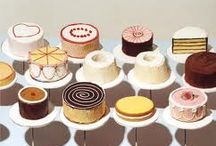 I Heart CAKE!!! / I adore cake and everything about CAKE. It all started with Wayne Thiebaud and his capitivating cake and pastry paintings. Now I am hooked! / by Jen