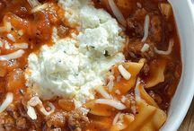 Soups / Lasagna