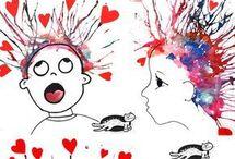 Детям рисование
