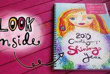 2015 Goal workbook and inspiration / by Amber Swaffar