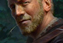 fantasy male portrait