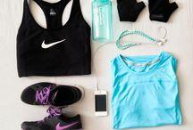 Sportowe ubrania.