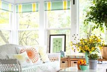 Porches and Sunrooms / A collection of sun/screen porches to help me decide what to do with my own covered patio. / by Suzanne Eisenhauer