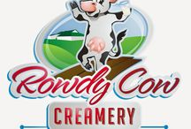 Rowdy Cow Creamery / Rowdy Cow Creamery is our small on-farm processing facility where we bottle fresh milk from our cows. Milk is bottled just steps away from where the cows are milked. Now that's fresh!