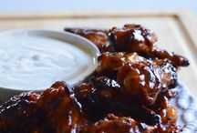 chicken wings honning