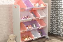 Sort It & Store It / Clear clutter with KidKraft's storage solutions for bedroom and playroom.