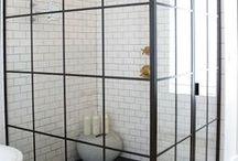 Bathroom time / Inspirasjon to the new wet'room