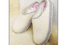 Crochet slippers patterns