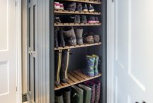 The Castle Mudroom area. / Please pin to your hearts content.