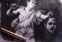 Tareas del trimestre / Porfolio Dibujo Artístico I