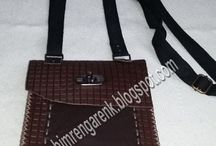 Deri Erkek Omuz Çantası--Leather men's shoulder bag