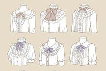 服 描き方