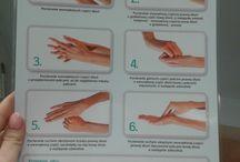 Prawidłowe techniki mycia rąk! / Warto się nauczyć i zapamiętać, a później cieszyć się z czystych rąk :)