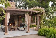 OUTDOOR ROOMS / by Barbara Bosworth