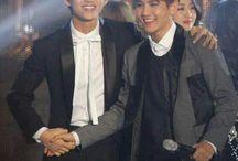 V and Baekhyun