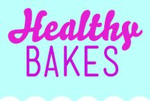 healthy bakes / A collection of some of our favourite Healthier bakes!