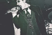 Dave Vanian from The Damned