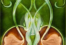 Art Nouveau / For my obsession and love of all things Art Nouveau.