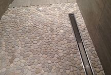 Pebble Floors / Fun ways to use pebble mosaic