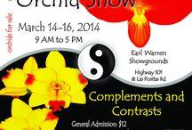 Santa Barbara International Orchid Show 2014 / Earl Warren Showgrounds Highway 101 and Las Positas Road 3400 Las Positas Road Santa Barbara, CA 93105  Friday March 14, 2014 9 AM - 5 PM Saturday March 15, 2014 9 AM - 5 PM Sunday March 16, 2014 9 AM - 5 PM
