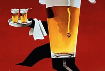 Beer, advertisement, Vintage