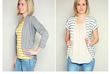 clothes: tops, sweaters, cardigans
